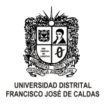 UNIVERSIDAD DISTRITAL FRANCISCO JOSE DE CALDAS